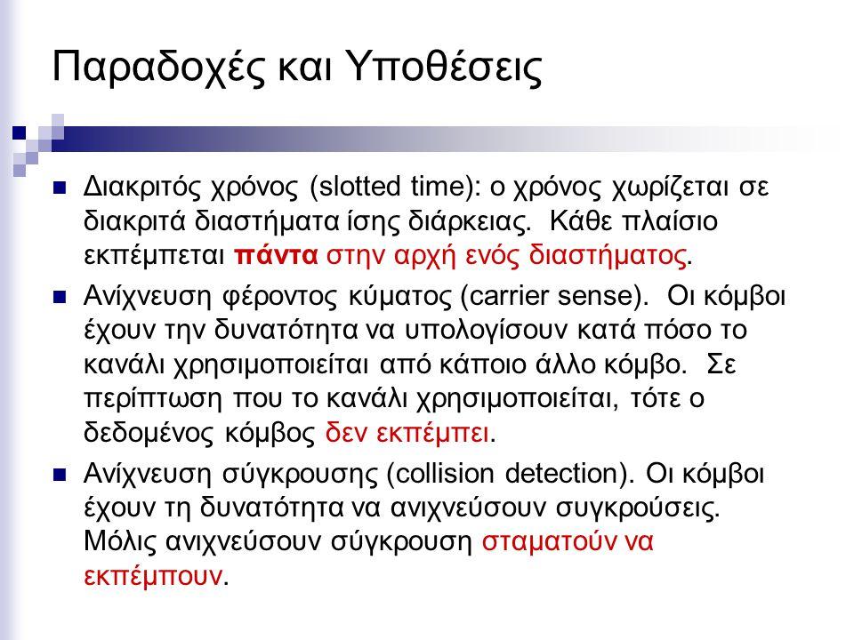 Spread Spectrum (SS) Μέθοδος κωδικοποίησης σήματος Η μέθοδος, παρόλο ότι είναι πιο πολύπλοκη, παρέχει ορισμένα πλεονεκτήματα  Επηρεάζεται λιγότερο από το θόρυβο και τις παρεμβολές  Πιο ασφαλής μέθοδος καθώς το σήμα «κρυπτογραφείται»  Μπορεί να πετύχει μεγαλύτερο ρυθμό μετάδοσης.