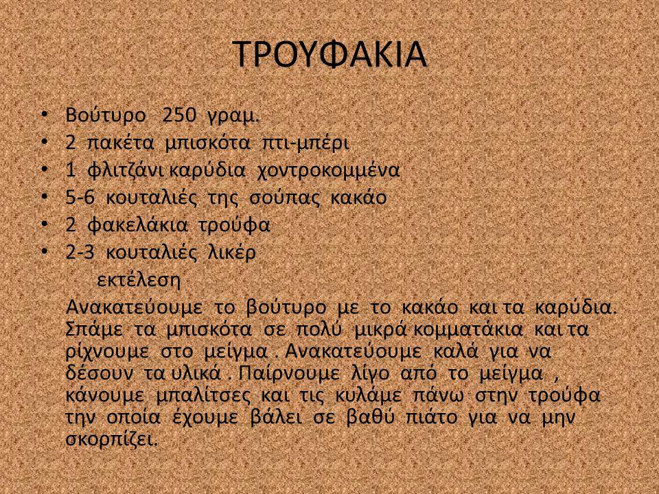 ΤΡΟΥΦΑΚΙΑ Βούτυρο 250 γραμ.