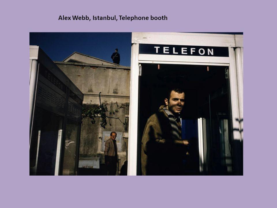 Alex Webb, Istanbul, Telephone booth
