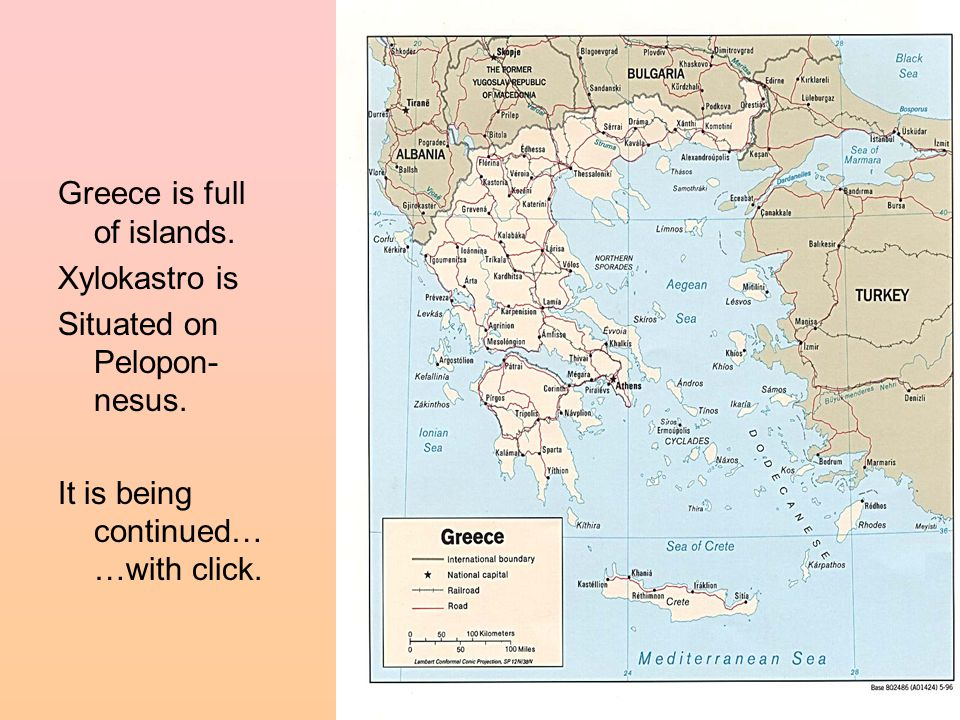 Greece is full of islands. Xylokastro is Situated on Pelopon- nesus. It is being continued… …with click.