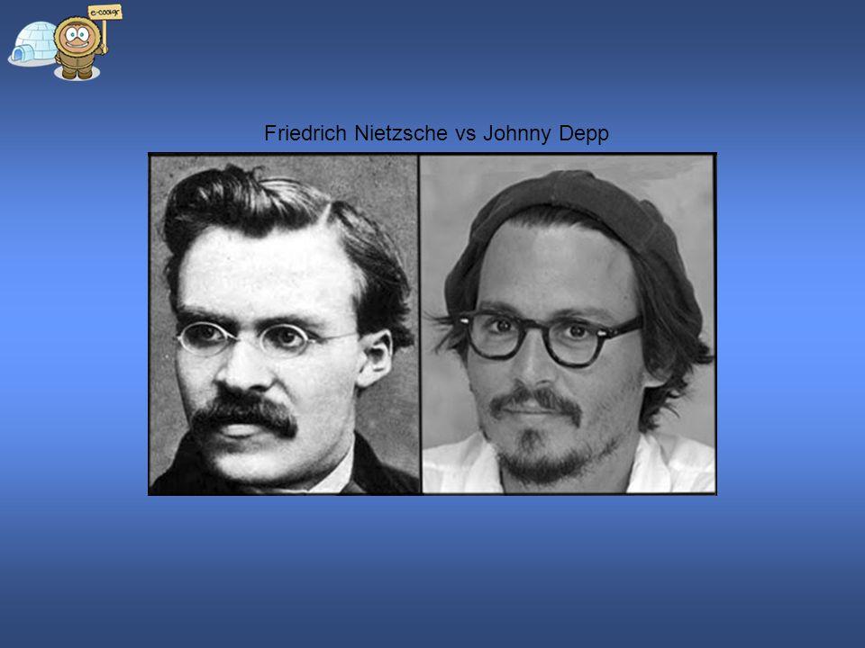 Friedrich Nietzsche vs Johnny Depp