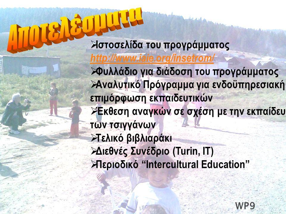  Ιστοσελίδα του προγράμματος http://www.iaie.org/insetrom/ http://www.iaie.org/insetrom/  Φυλλάδιο για διάδοση του προγράμματος  Αναλυτικό Πρόγραμμ