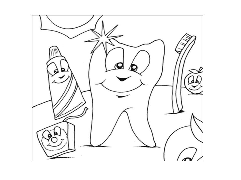 Η δασκάλα γράφει στον πίνακα τη φράση «Γερά δόντια …..