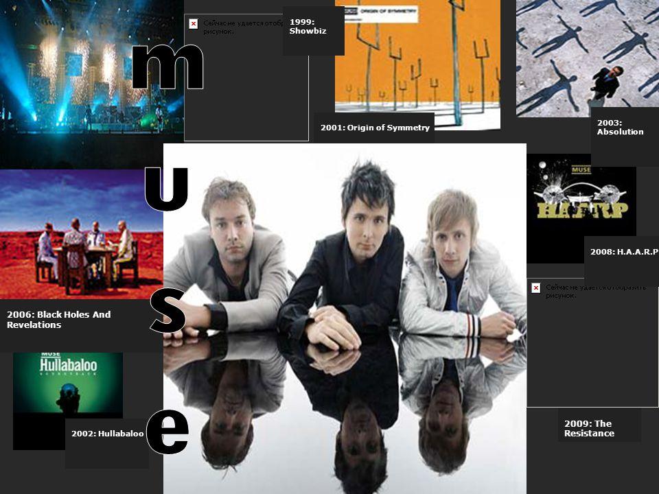 Βιογραφία Οι Muse είναι μια αγγλική ροκ εναλλακτική μπάντα από το Teignmouth, Devon της Αγγλίας. Το συγκρότημα αποτελούν οι Matthew Bellamy (φωνή, κιθ