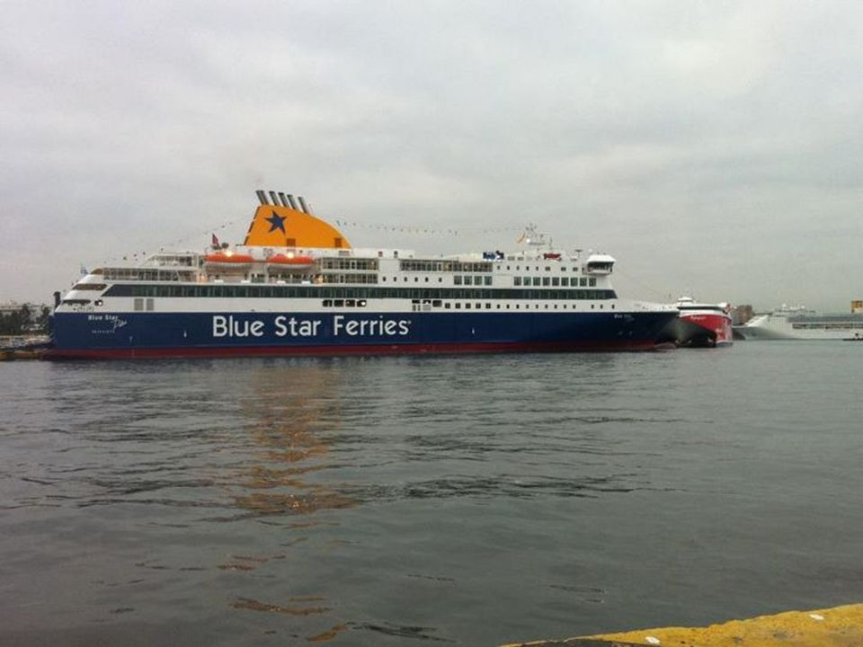  Media  One of Blue Star Ferries' boat took the role of