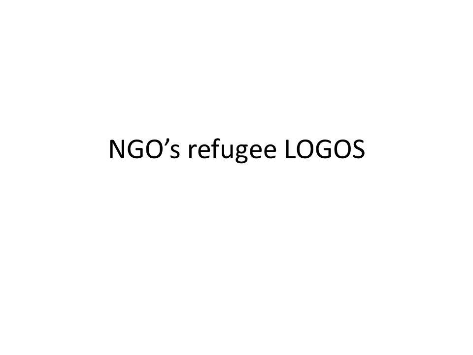 NGO's refugee LOGOS