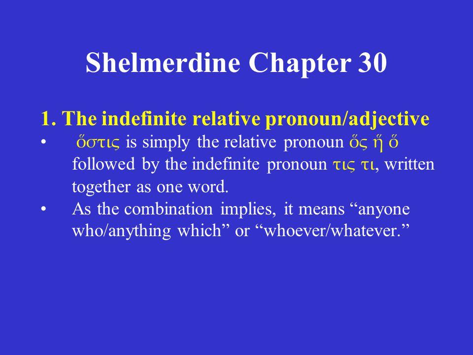 Shelmerdine Chapter 30 1.