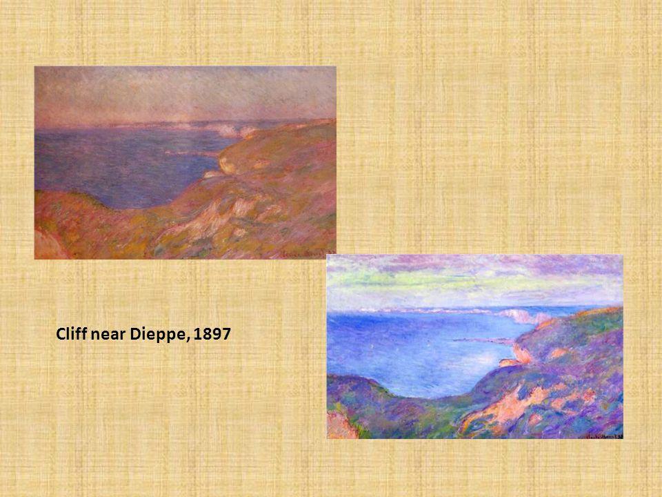 Cliff near Dieppe, 1897