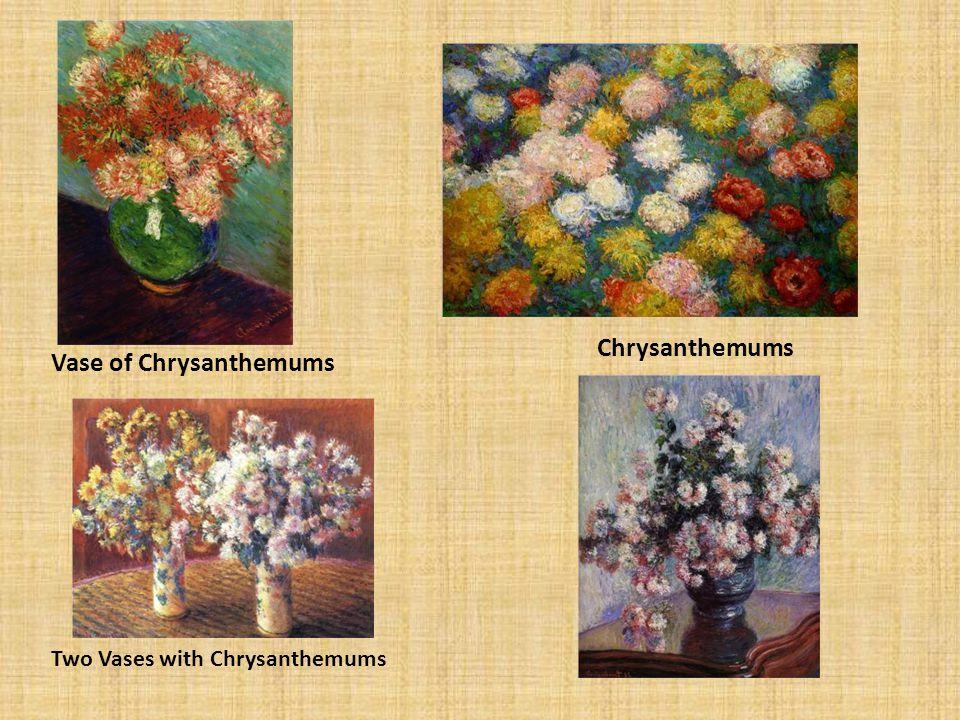 Vase of Chrysanthemums Chrysanthemums Two Vases with Chrysanthemums