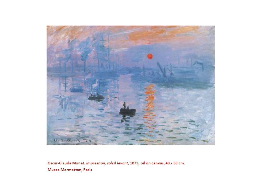 Claude Monet, Grainstack, 1890, oil on canvas 73 x 92 cm, Private Collection.