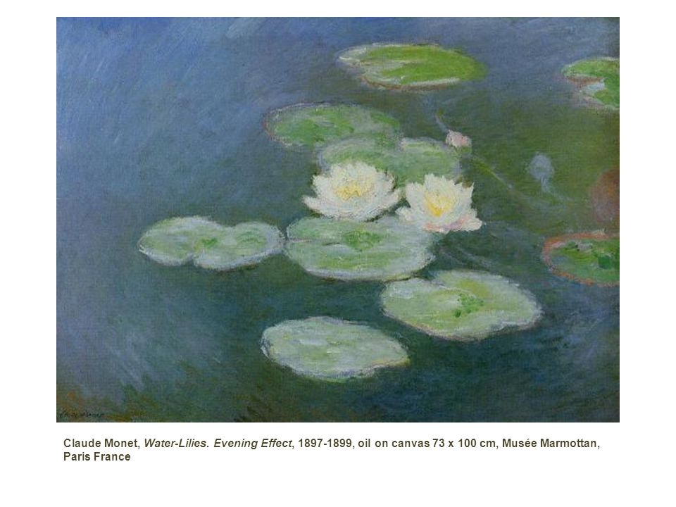 Claude Monet, Water-Lilies.