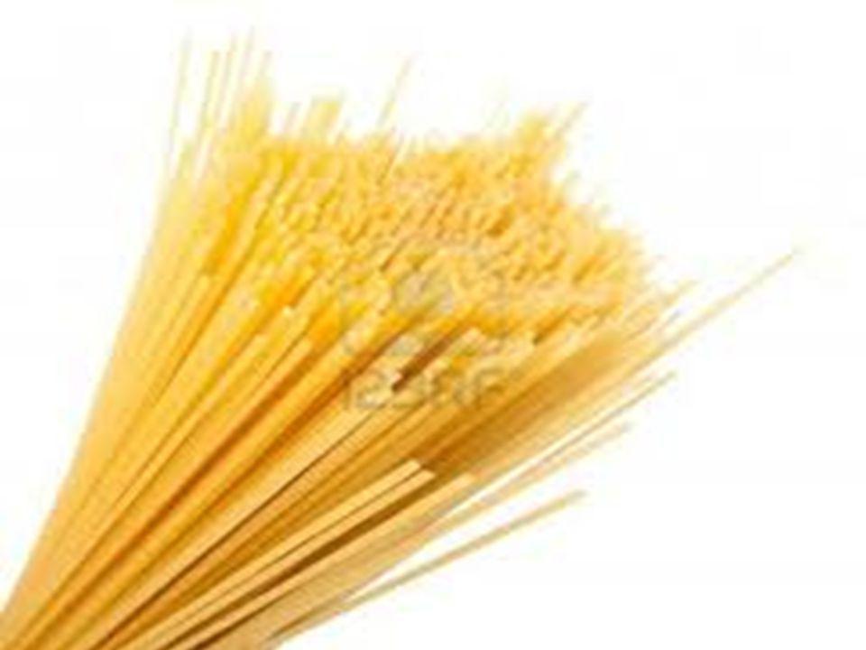  Spaghetti Σπαγγέτι είναι ένα μακρύ, λεπτό και κυλινδρικό ζυμαρικό της Ιταλικής και της Σικελικής προέλευσης.