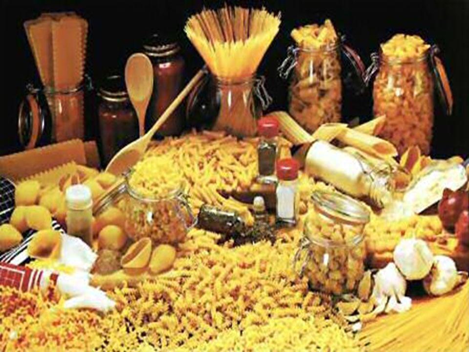 Τ Α ΖΥΜΑΡΙΚΆ Ο αριθμός των διαφορετικών ζυμαρικών που υπάρχουν στην Ιταλία είναι πραγματικά εντυπωσιακός.
