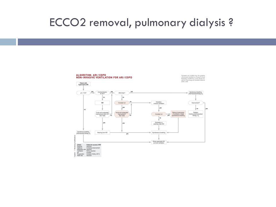 ECCO2 removal, pulmonary dialysis ?