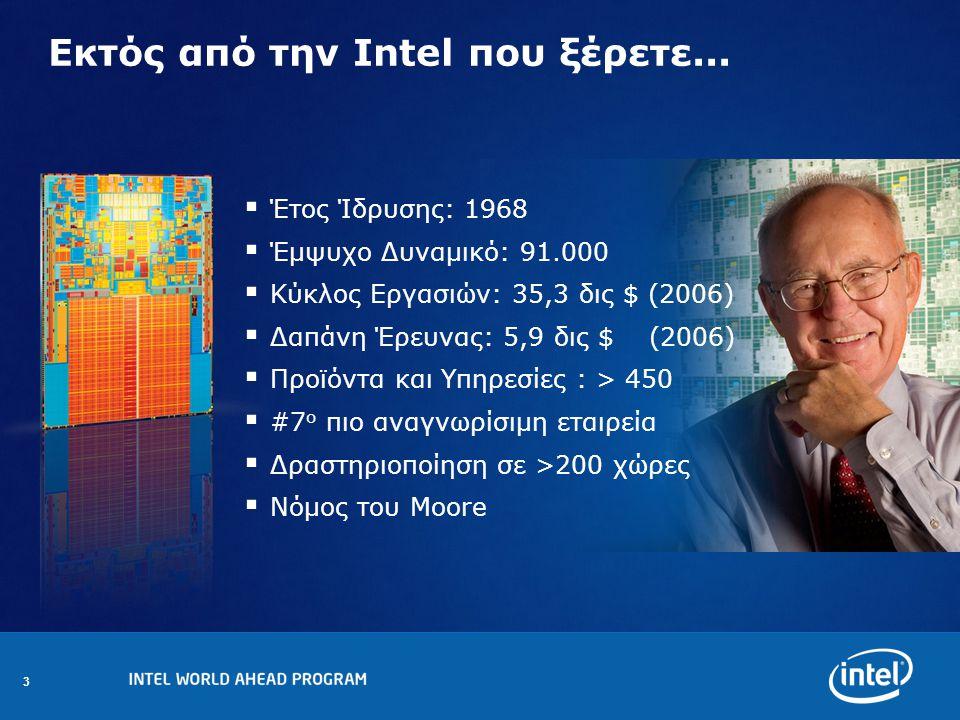 3 Εκτός από την Intel που ξέρετε...