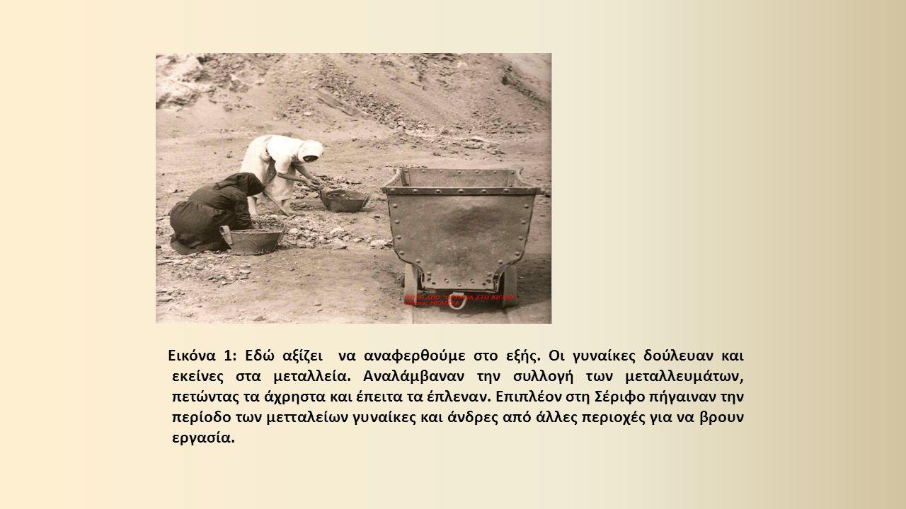 Το 1885 άρχισε η συστηματική εκμετάλλευση των σιδηρομεταλλευμάτων με ανοδικό ρυθμό παραγωγής έως το 1910 περίπου.