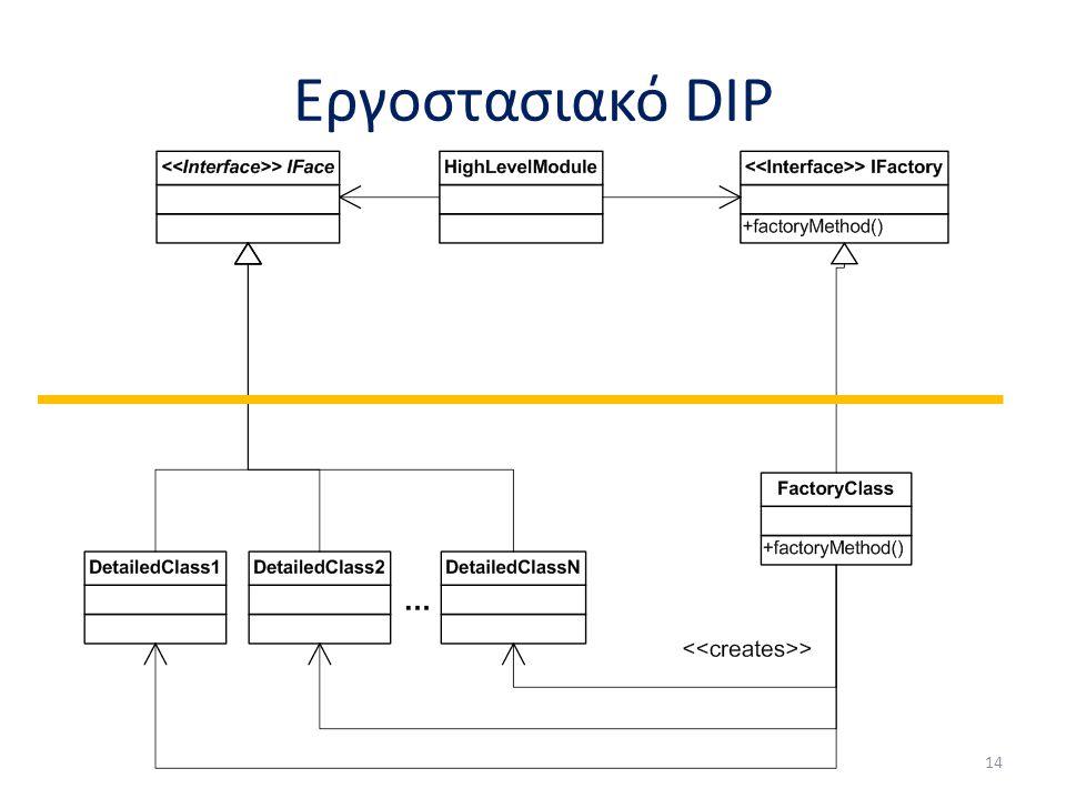 Εργοστασιακό DIP 14