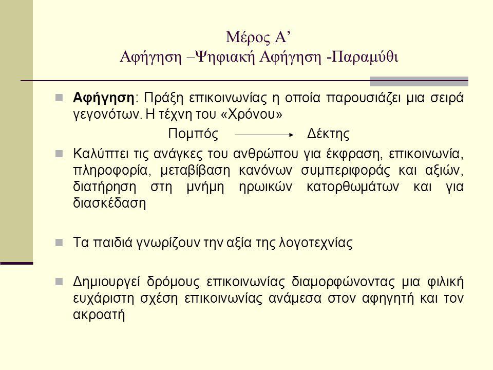 Βιβλιογραφία Αναγνωστοπούλου Δ., Λογοτεχνική πρόσληψη στην προσχολική και πρωτοβάθμια εκπαίδευση, εκδ.