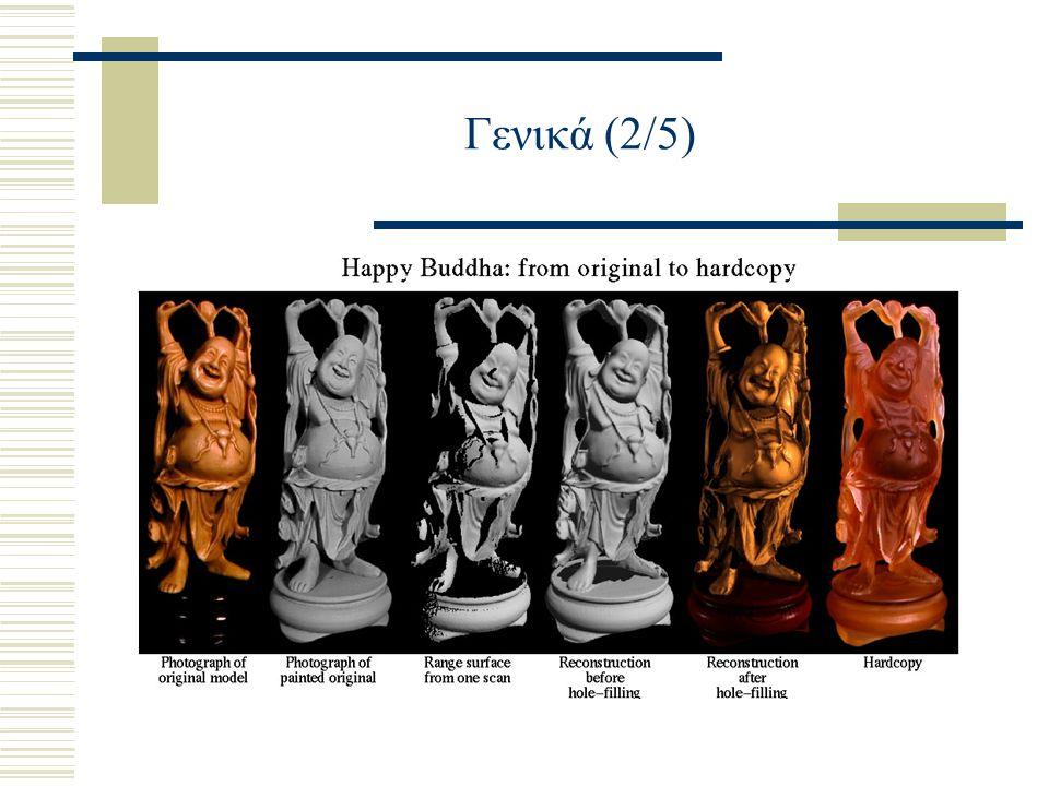 Computer Renderings που βρίσκουμε στο Digital Michelangelo Project Archive (3/7) Άγιος Ματθαίος: