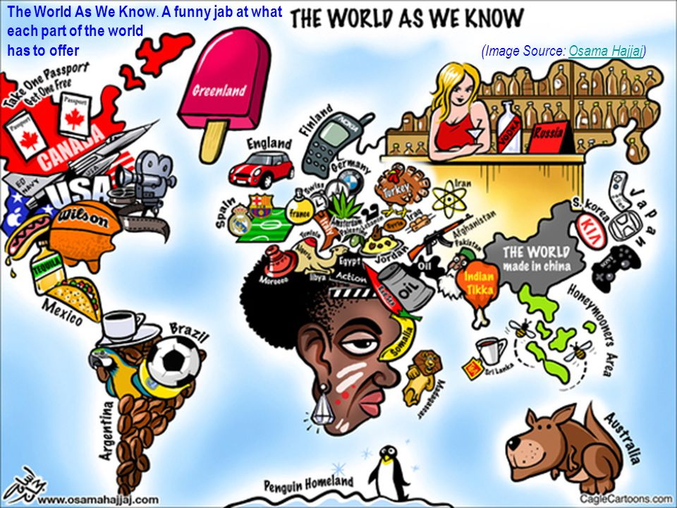 The World As We Know.