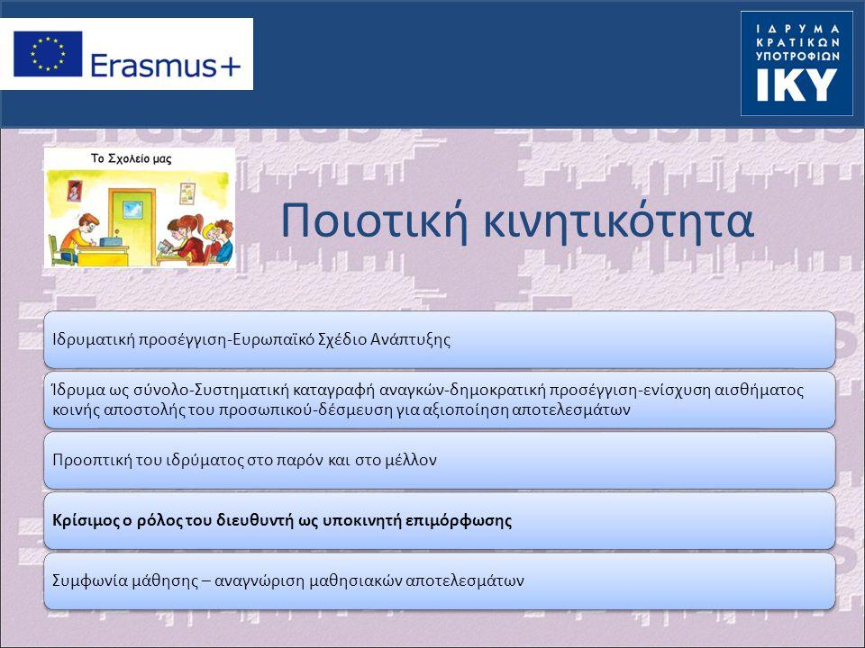 Χαρακτηριστικά (I) Αίτηση υποβάλλεται από σχολείοΜια αίτηση για περισσότερες κινητικότητεςΜοναδική ημερομηνία υποβολής: 17 Μαρτίου 2014Διάρκεια σχεδίου : 1 έως 2 έτηΕταίροι : τουλάχιστον 2 από 2 διαφορετικές χώρεςΔεν προσδιορίζονται οι συμμετέχοντες-ορίζεται αριθμός μετακινουμένων, είδος δραστηριοτήτων, χώρες υποδοχήςMobility project: Προετοιμασία (…..) Υλοποίηση της κινητικότητας Ολοκλήρωση του σχεδίου(….) Στόχος : αντίκτυπος σε προσωπικό & ιδρυματικό επίπεδο