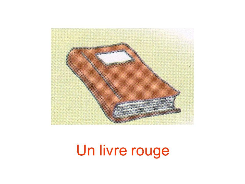 Un livre rouge