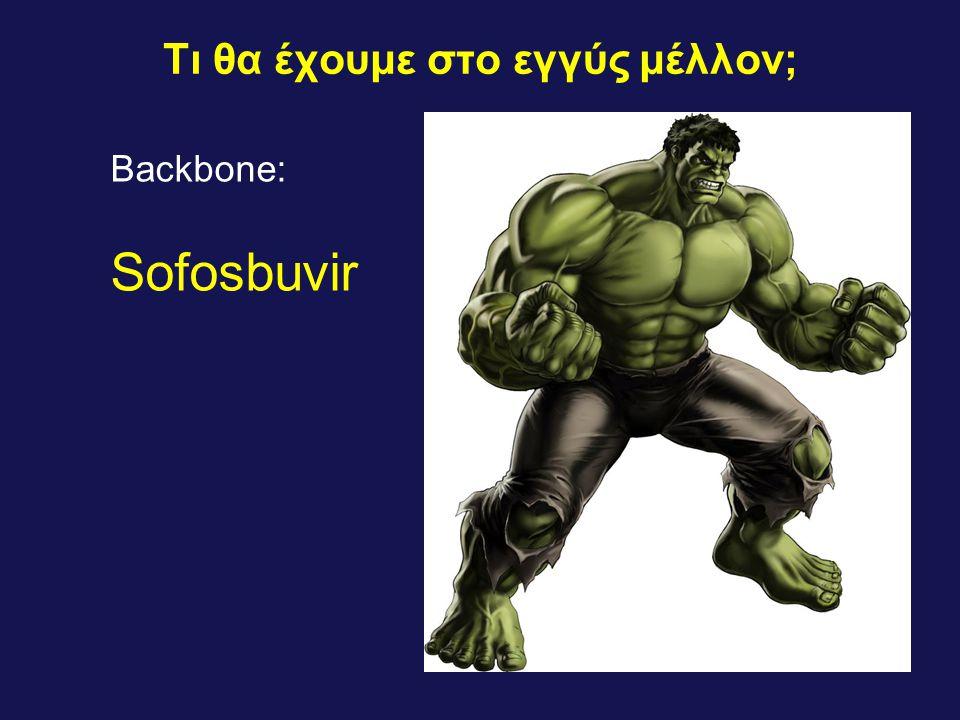 Τι θα έχουμε στο εγγύς μέλλον; Backbone: Sofosbuvir