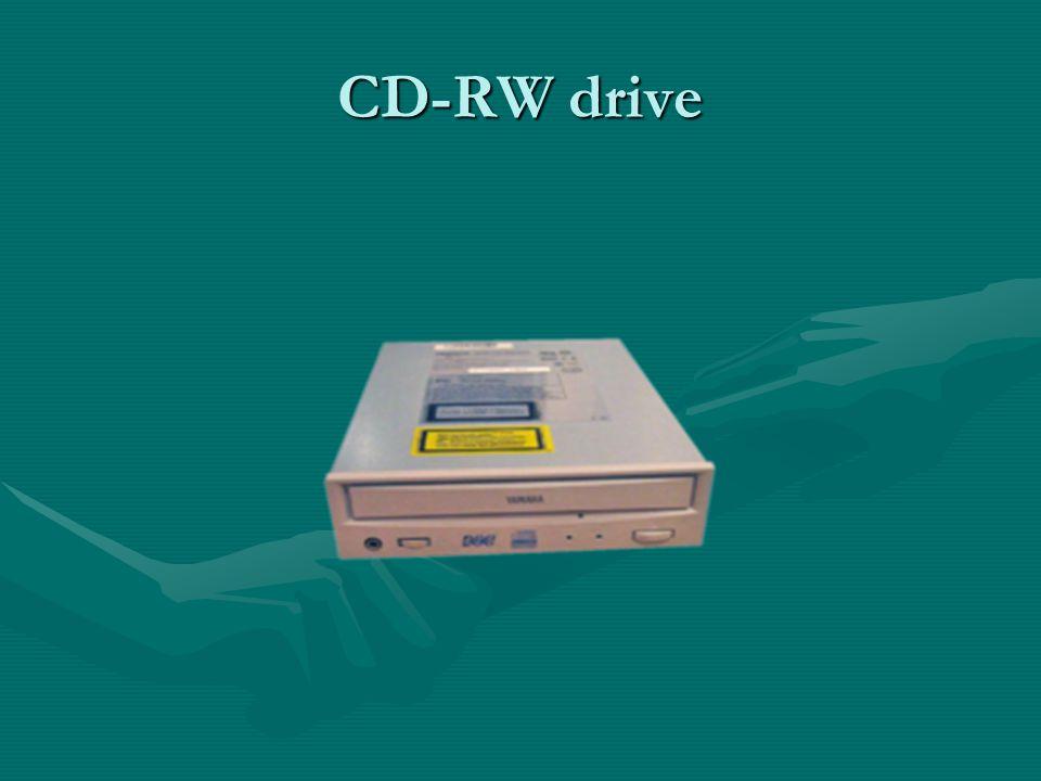 CD-RW drive