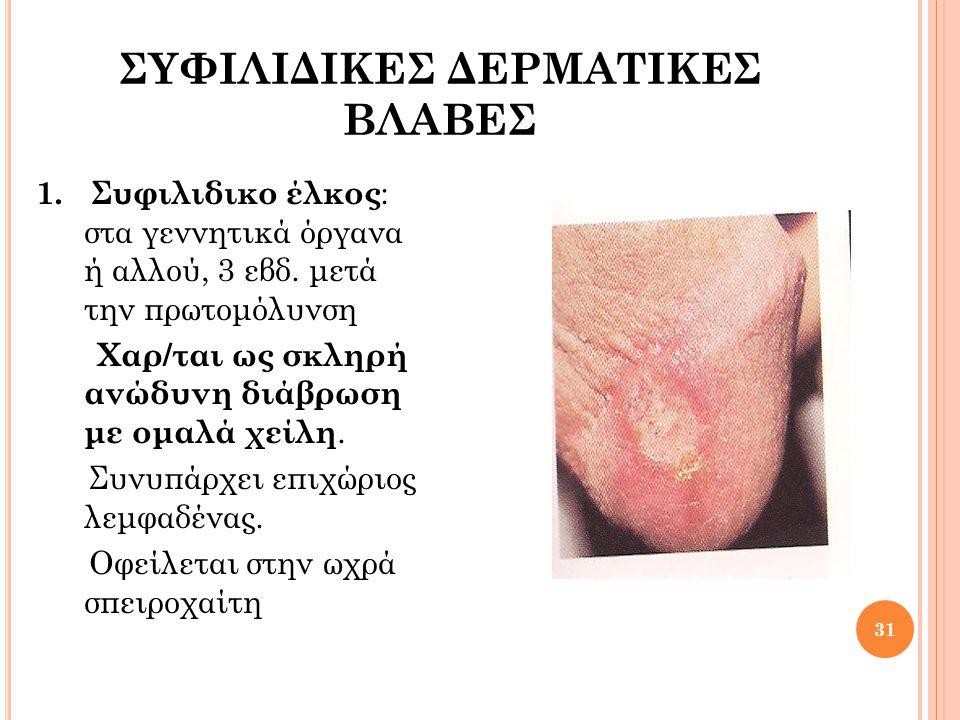 ΣΥΦΙΛΙΔΙΚΕΣ ΔΕΡΜΑΤΙΚΕΣ ΒΛΑΒΕΣ 2.