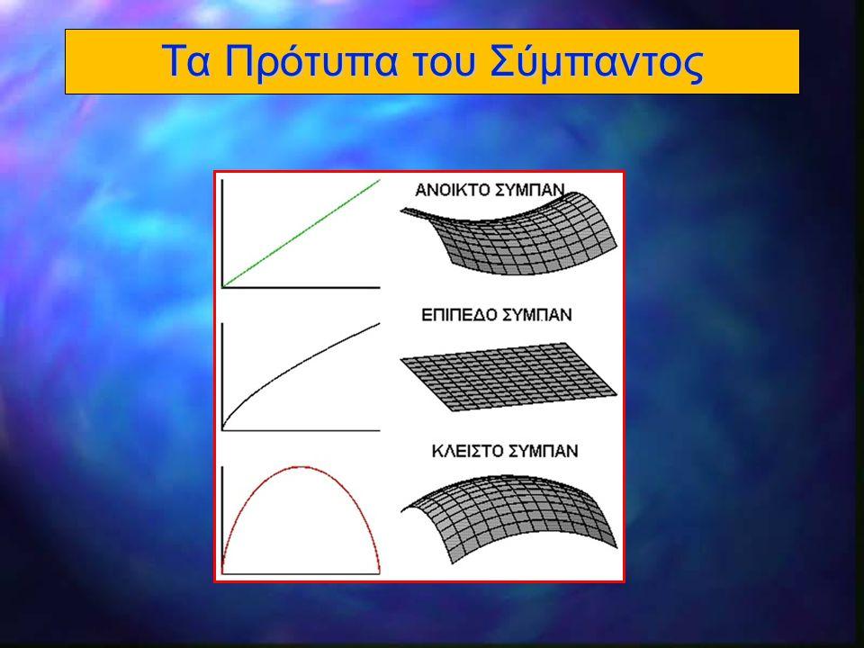 22 Η Γεωμετρία του Σύμπαντος 300,000 l Σε t έτη, το φώς διανύει απόσταση t ετών φωτός.