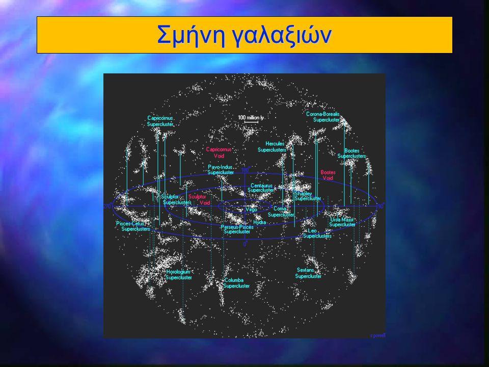 24 Κοσμική ακτινοβολία υποβάθρου l 1965 – Ο Arno Penzias και ο Robert Wilson l Κατά την προετοιμασία για την παρατήρηση του Γαλαξία στα 21 cm, ανακάλυψαν τυχαία την κοσμική ακτινοβολία υποβάθρου l 1978: Nobel Φυσικής