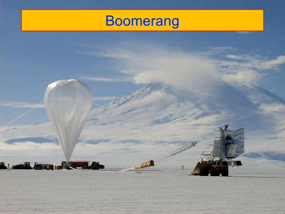29 Τα αποτελέσματα του Boomerang Συμπέρασμα: Το Σύμπαν είναι επίπεδο