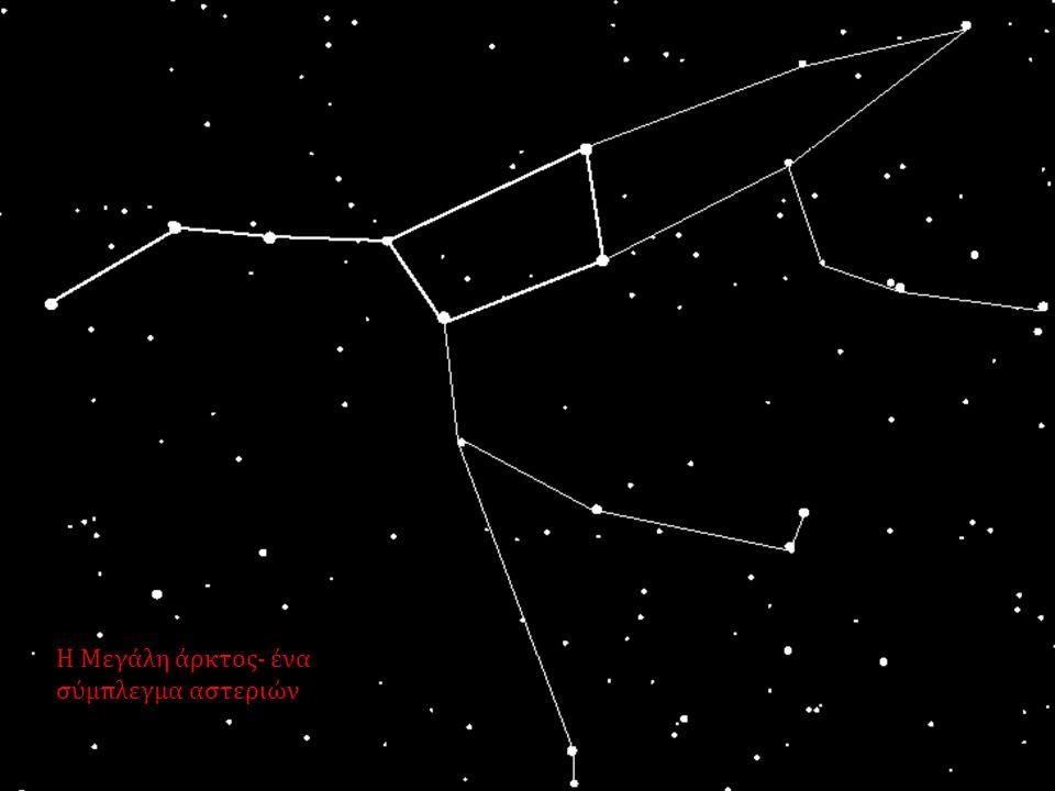 Η Μεγάλη άρκτος- ένα σύμπλεγμα αστεριών