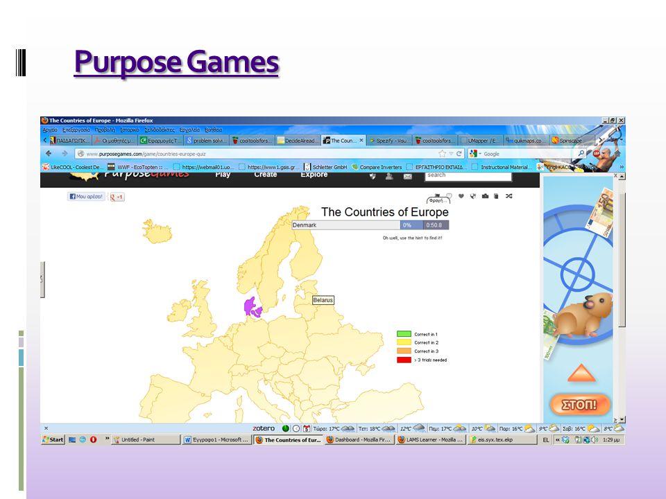 Purpose Games Purpose Games