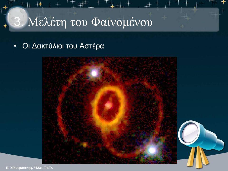 3. Μελέτη του Φαινομένου Οι Δακτύλιοι του Αστέρα