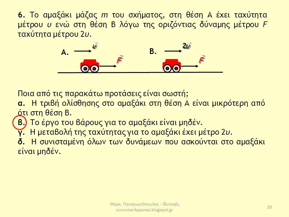 Μερκ.Παναγιωτόπουλος - Φυσικός www.merkopanas.blogspot.gr 29 6.