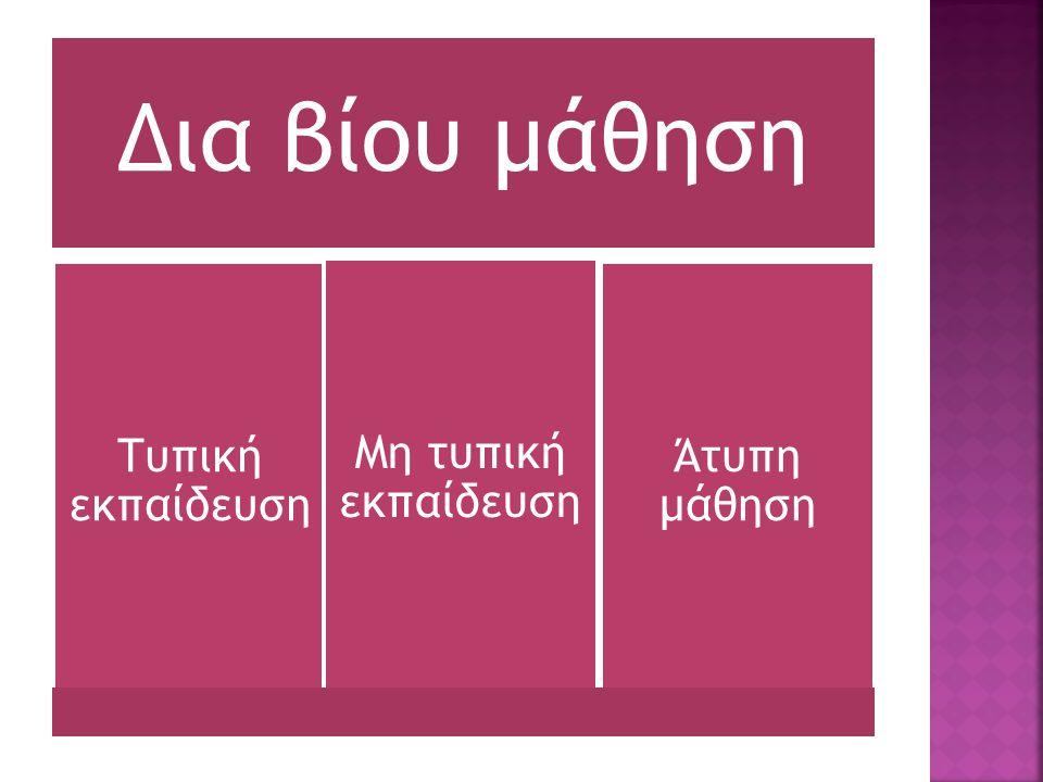  ΝΟΜΟΣ ΥΠ' ΑΡΙΘ. 3879 Ανάπτυξη της Δια Βίου Μάθησης