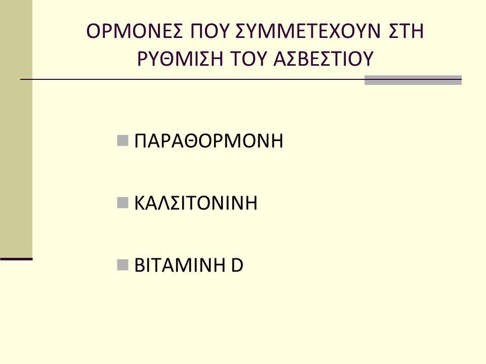 Κλινικές εκδηλώσεις Ασυμπτωματική (τυχαίο έλεγχο για ασβέστιο ορού) Εκδηλώσεις υπερασβεστιαιμίας Ινώδης κυστική οστεΐτιδα σε παραμελημένα περιστατικά