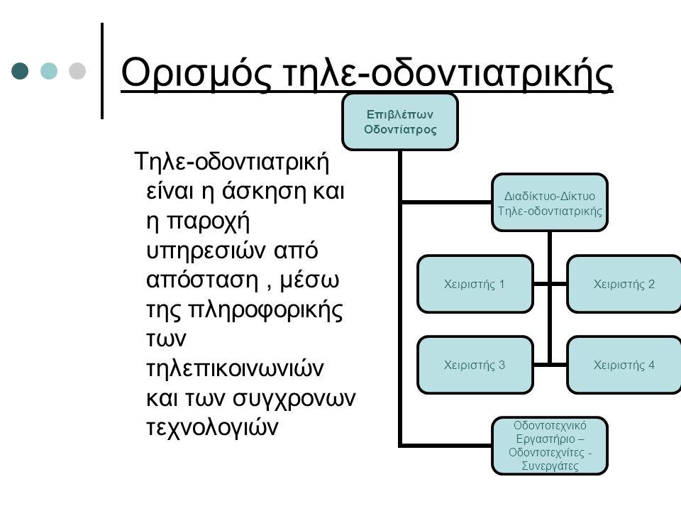 Φορείς Υλοποίησης Υπουργείο Υγείας και Κοινωνικής Αλληλεγγύης Ελληνική Οδοντιατρική Ομοσπονδία Οδοντιατρικοί Σύλλογοι.