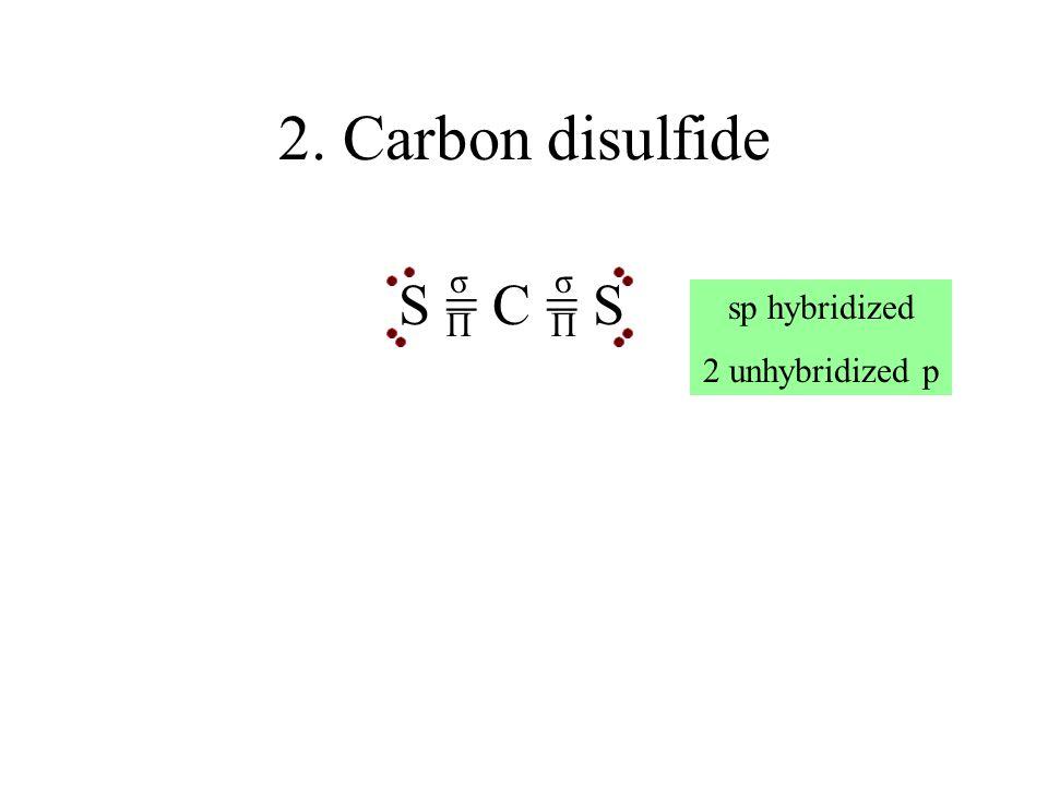 23. Dichloroethyne ClCCCl σσ σ ΠΠ Each C atom is sp 2 hybridized with 2 unhybridized p