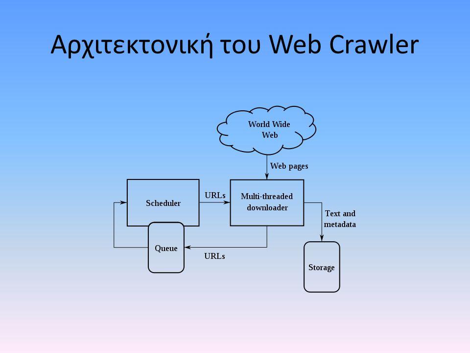 Αρχιτεκτονική του Web Crawler