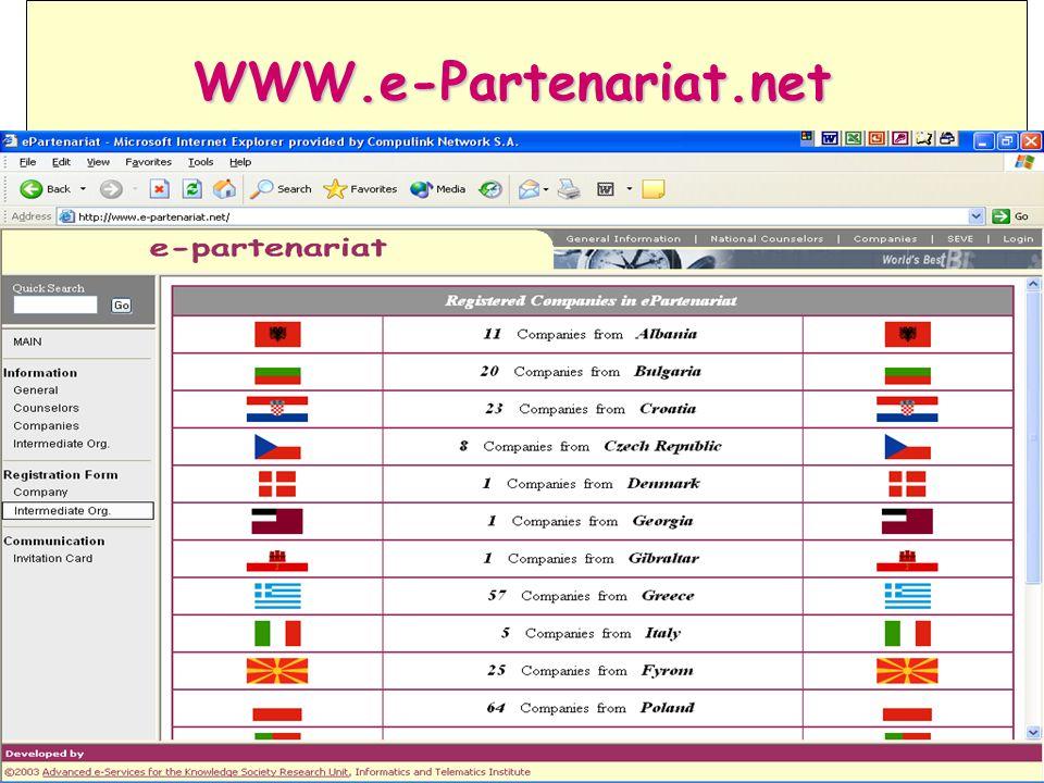 (*) Mandatory fields (*) Mandatory fields WWW.e-Partenariat.net