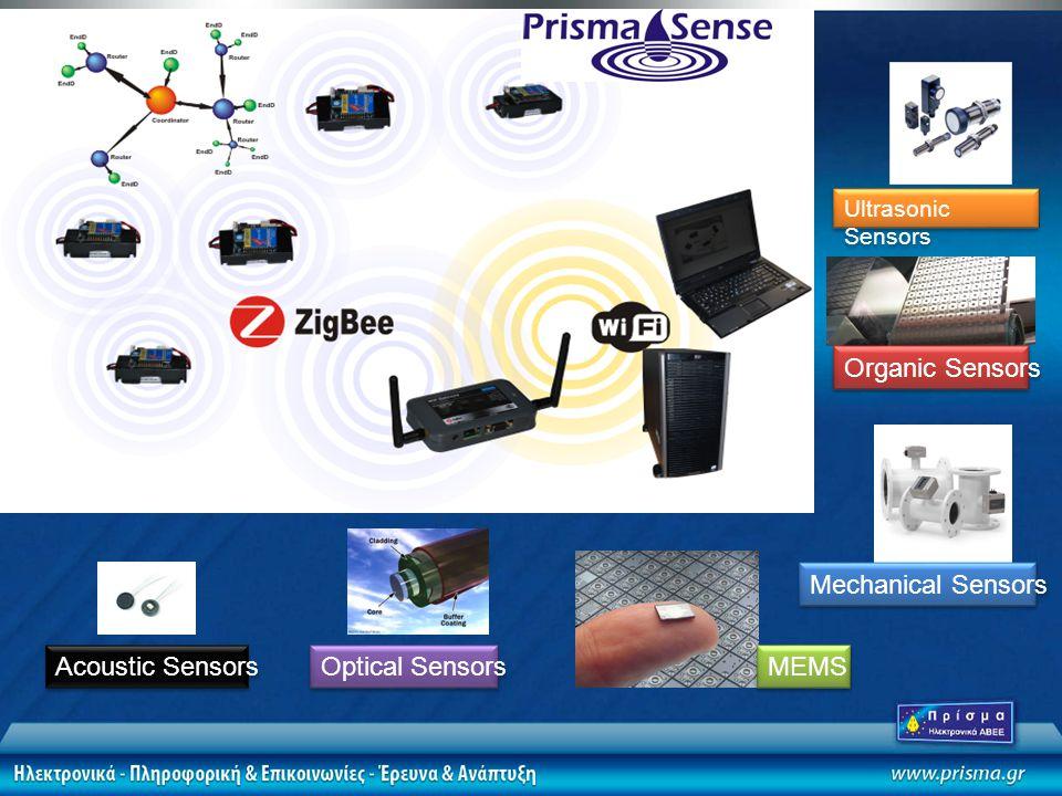 Organic Sensors Mechanical Sensors MEMS Optical Sensors Ultrasonic Sensors Acoustic Sensors