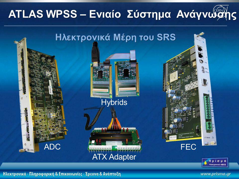 ATLAS WPSS – Eνιαίο Σύστημα Ανάγνωσης Αν Σωμ Ηλεκτρονικά Μέρη του SRS FEC ADC Hybrids ATX Adapter