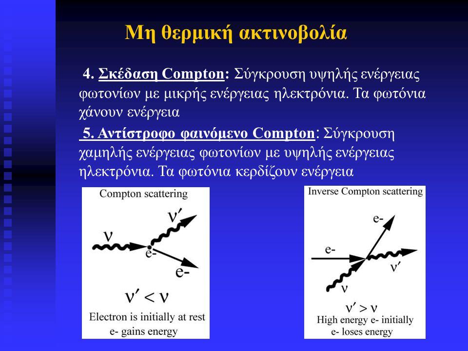 Μερικές βασικές έννοιες της Ραδιοαστρονοίας Ραδιοαστρονομικές συχνότητες 30 MHz – 800 GHz Αντίστοιχο μήκος κύματος 10 m – 0.4 mm (1/30000) Τα ραδιοτηλεσκόπια LOFAR και ALMA θα εξερευνήσουν τις ακραίες συχνότητες