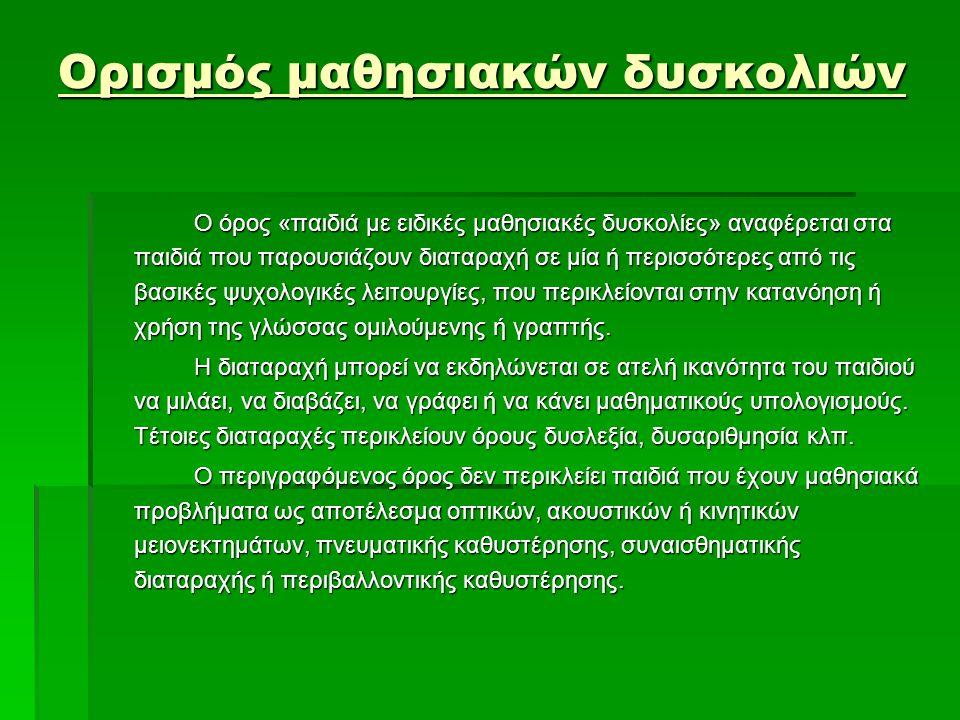 Χαρακτηριστικά Δυσλεξίας  Στην ανάγνωση,  στη γραφή, και  στη συμπεριφορά