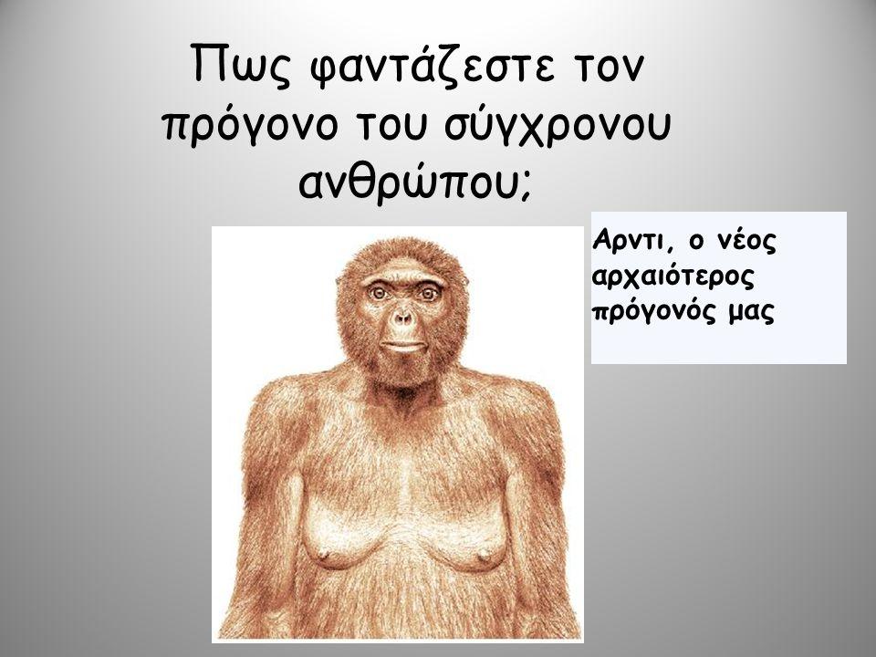Σήμερα 20.000.000 εκατ.χρόνια πριν 1.500.000 εκατ.