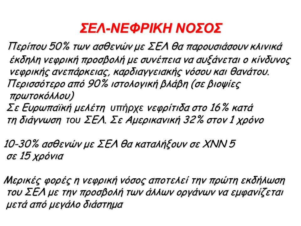 CLASS IV LUPUS NEPHRITIS Lupus nephritis class IV-G (A/C).