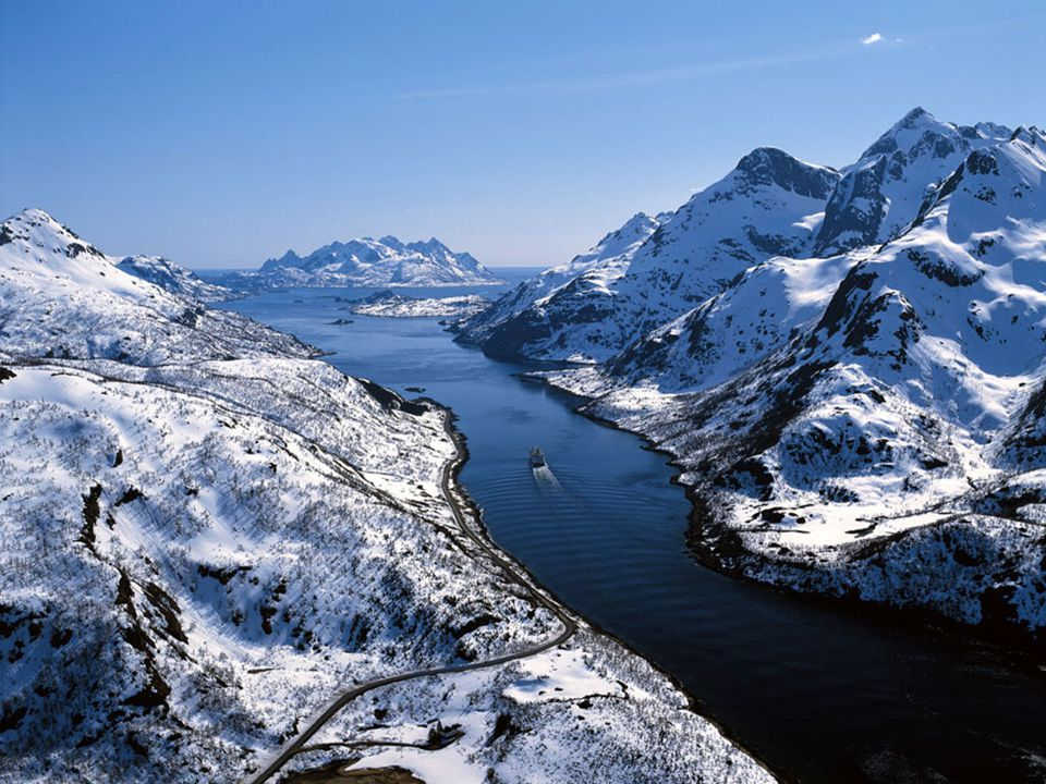 ΛΑΠΩΝΙΑ Λαπωνία, Νορβηγία: το ιδανικό μέρος για να απολαύσετε αυτό το υπέροχο θέαμα της φύσης.
