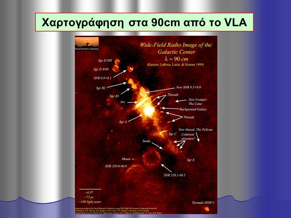 Χαρτογράφηση στα 90cm από το VLA